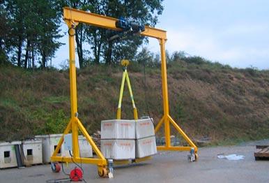 Selmetroncom Gantry Cranes